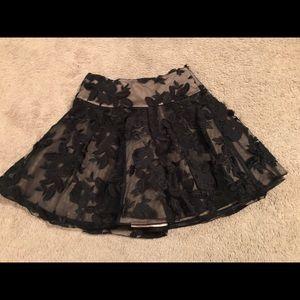 Bebe skirt black lace 💥💫2 for $30💫💥